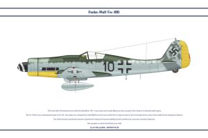 Fw190D9 JG54 1 by WS-Clave