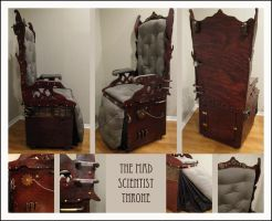 Mad Scientist Throne by mistymidnight
