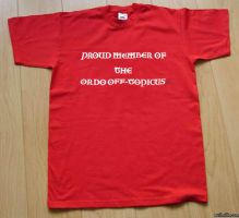 The Ordo T-shirt by damonx99