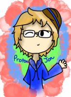 Late-Night ProtonJon Doodle by PixelatedBudder
