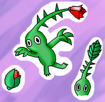 Green Pikmin by White-Pikmin