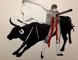 Stop Bullfighting by Bashir-Sultani