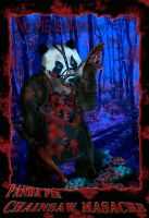 PANDA PIE CHAINSAW MASACRE by SCT-GRAPHICS