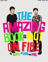 The Amazing Book is Not on Fire (cover redone) by JimTigerLily