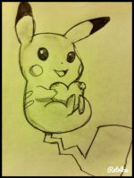 Valentine's Pikachu! by help-is-wanted