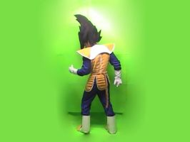Awesome saiyan armor by Vegetanthony