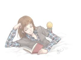 Girl Reading... by nJoo