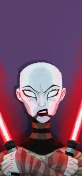 Clone Wars: Portrait of a Sith by CaptainUnobservant