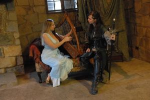 You play harp, I play sword by LinzStock
