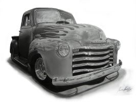 Chevrolet 3100 by Lowrider-Girl