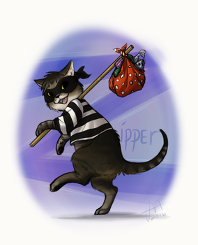 Humane Society Fun - Trickster Zipper by Pandas-R-Us