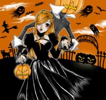 Meet the pumpkin queen by blackmalice
