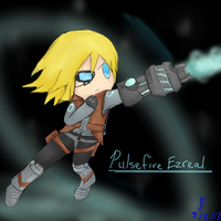 League of Legends: Pulsefire Ezreal by TheMuteMagician