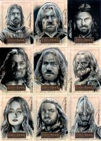 LOTR Sketch Cards 5 by RandySiplon