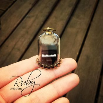 Piano necklace by Ruby-creations