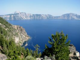 Crater Lake 10 by silent-scenes