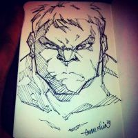 Hulkie (sketch) by emmshin