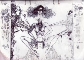 sketch for lost in the estates of flesh and pain by Antonia-Asylum-Queen