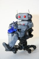 The Knitting Robot by jollypickle