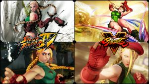 Cammy White Versions SFIV to SFV by Helryu