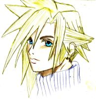 Cloud Strife - Sketch by xXFF7xYaoixX