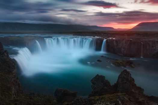 The Waterfall of the Gods by hateom