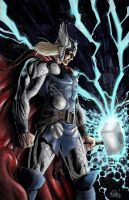 MightyThor Final Colors by SaviorsSon