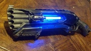 Prototype Mark III Nerf Rough-Cut shotgun by DrDisco777