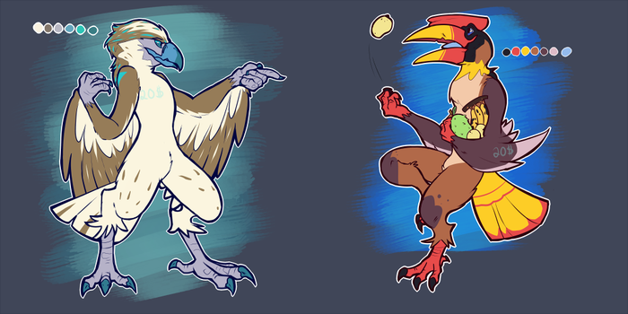 Philippine endemic bird adopts by Puppenstein
