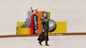 Thor, Loki - Let's play, brother by DaaRia