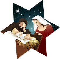 Holy Family and the birth of Jesus1 by samasmsma