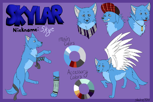 New Skye Ref by shaina773