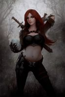Creation Process (Katarina, the Sinister Blade) by dr-grizscald