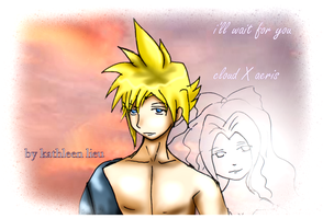 Cloud and Aeris Forever by nummyz