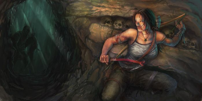 Tomb Raider Reborn Submission by divineclown