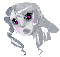 Dalhia _Grey and Pink by Welcoming-Meg