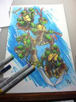 Tmnt 11x17 by colepetersonart
