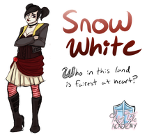 .:Snow White:. by ALittleRiddle