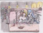 Drunked Night Dinner - Commission By Zoarenso by SkullCroos