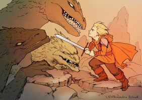 Consulting the dragons by APetruk
