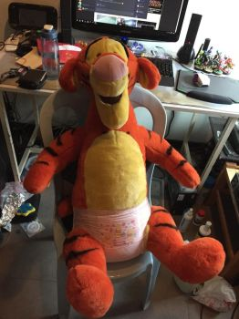 Diaper tigger by angelicoreXX