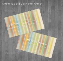 Colorized Business Card by flash-infinity