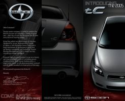 Scion Brochure Outside by i64X