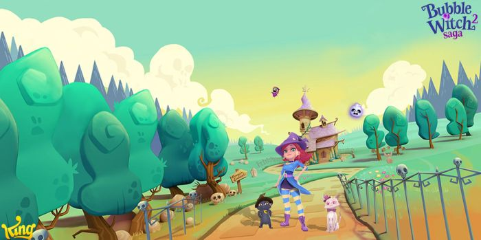 Bubble Witch Saga 2 Wallpaper by FatalitySonic2