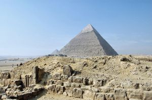 Pyramid of Khafre 1 by Lauren-Lee