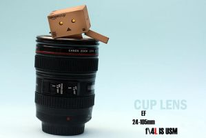 canon cuplens with Danbo 03 by Rooch-abdulaziz