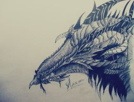 Dragon Head by artmaker77