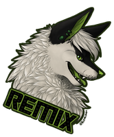 Remix_badge by Kisekisan