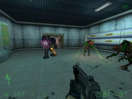 playing Half-Life: The Alpha Unit by felipe1355