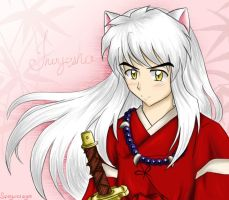 Inuyasha : I drew him AGAIN ! by spogunasya